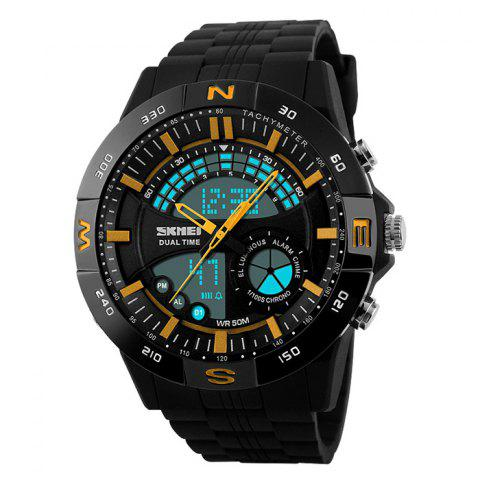 Outfit SKMEI Outdoor Timer Tachymeter Digital Sports Watch - YELLOW  Mobile