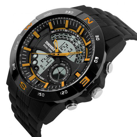 Store SKMEI Outdoor Timer Tachymeter Digital Sports Watch - YELLOW  Mobile