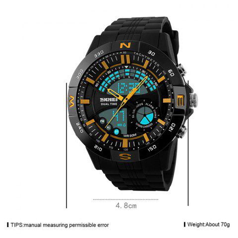 Shops SKMEI Outdoor Timer Tachymeter Digital Sports Watch - YELLOW  Mobile