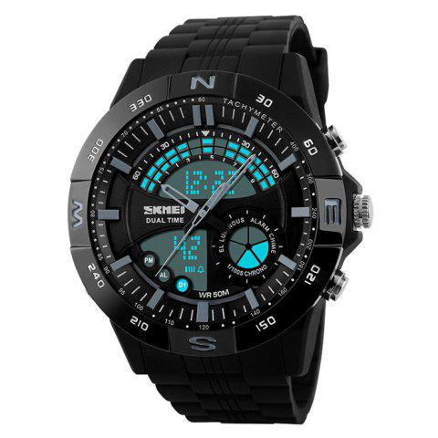 Chic SKMEI Outdoor Timer Tachymeter Digital Sports Watch - GRAY  Mobile