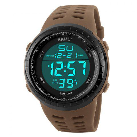 Sale SKMEI Pedometer Luminous Digital Sports Watch