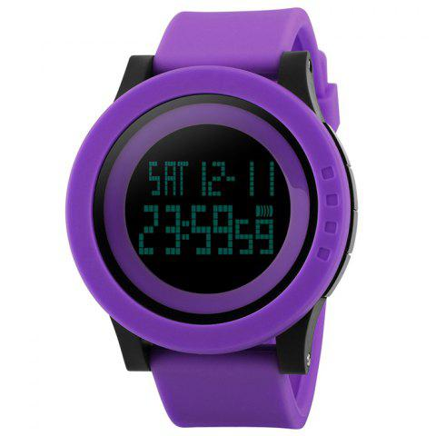Buy SKMEI Alarm Luminous Digital Sports Watch - PURPLE  Mobile