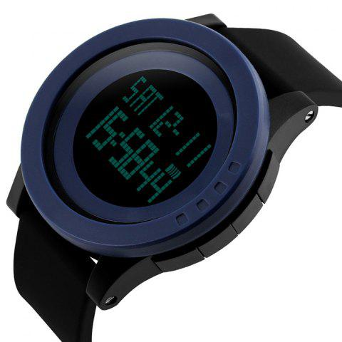 Outfit SKMEI Alarm Luminous Digital Sports Watch - DEEP BLUE  Mobile