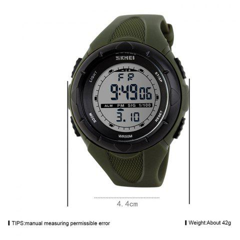 Outfit SKMEI Outdoor Luminous Digital Sports Watch - ARMY GREEN  Mobile