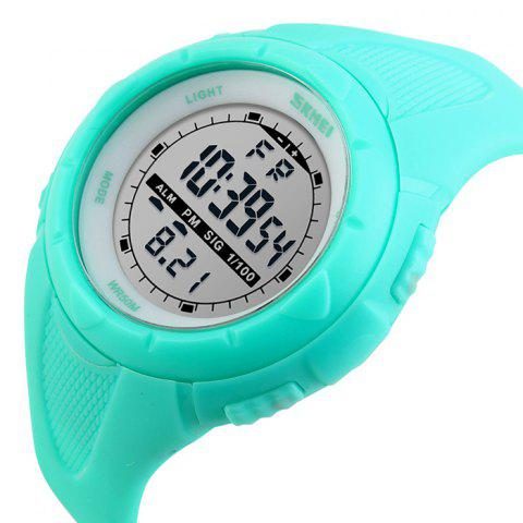 Outfit SKMEI Outdoor Luminous Digital Sports Watch - LAKE BLUE  Mobile
