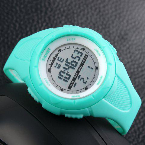 Chic SKMEI Outdoor Luminous Digital Sports Watch - LAKE BLUE  Mobile