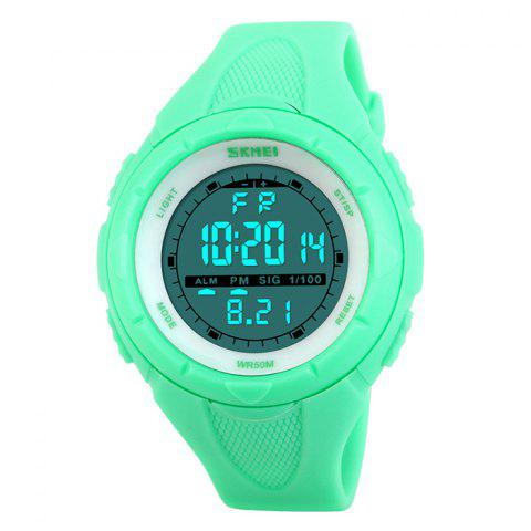 Outfit SKMEI Outdoor Luminous Digital Sports Watch - NEON GREEN  Mobile