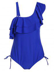 Ruffle Plus Size One Piece Swimwear