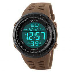SKMEI Pedometer Luminous Digital Sports Watch