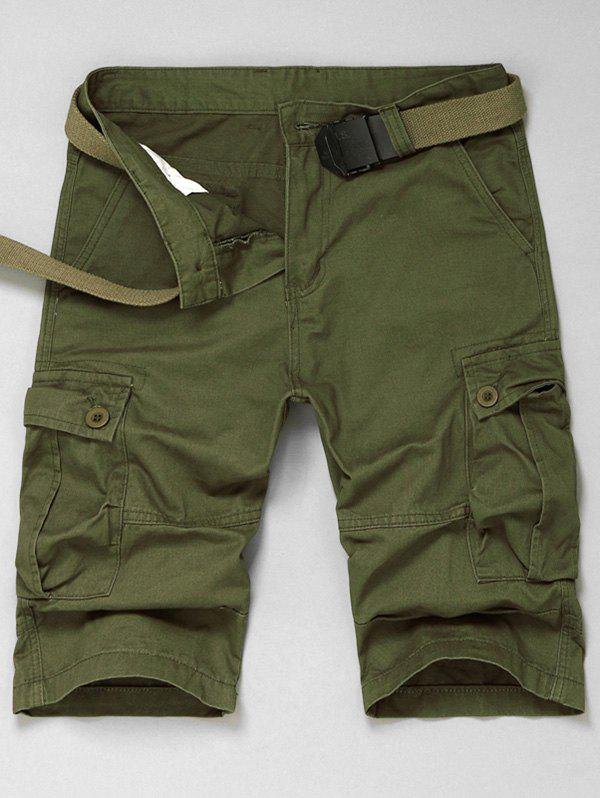 Multi Pokets Cargo Shorts
