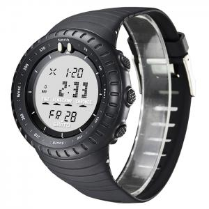GIMTO Silicone Luminous Digital Sports Watch -
