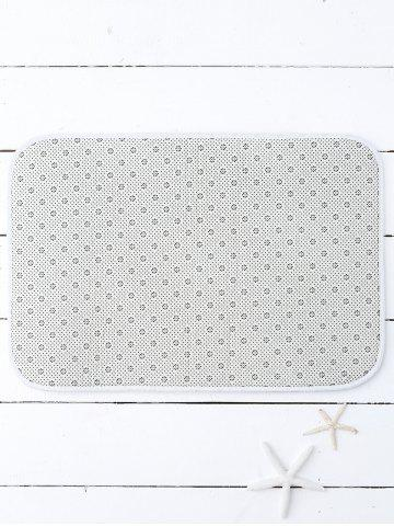 Latest Wolves Print Soft Water Absorb Bath Mat - 40*60CM GRAY Mobile