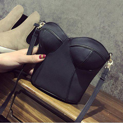 Cheap Novelty Corset Shaped Crossbody Bag