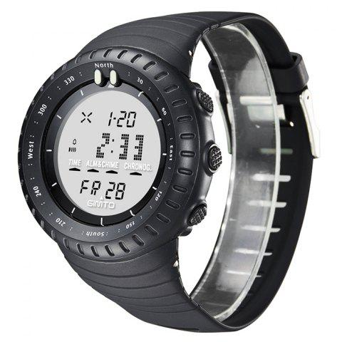 Outfit GIMTO Silicone Luminous Digital Sports Watch - WHITE  Mobile