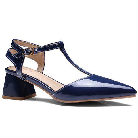 Buy T Bar Pointed Toe Pumps