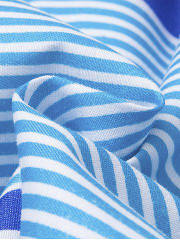 Hot Stripe Beach Shorts - 2XL COLORMIX Mobile