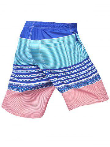 Hot Stripe Beach Shorts - 3XL COLORMIX Mobile