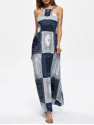 Bohemian Long Pattern Summer Beach Dress