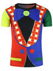 Clown Costume Print Novelty T-Shirts
