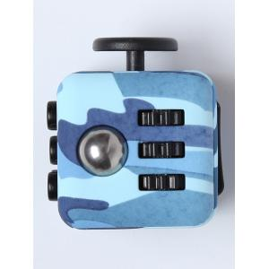 Mini Camouflage Stress Reliever Cube Toy -
