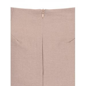A Line Mini Skirt - PINK S