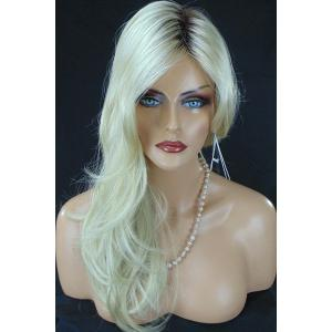 Charming Synthetic Long Curly Wig For Women - COLORMIX