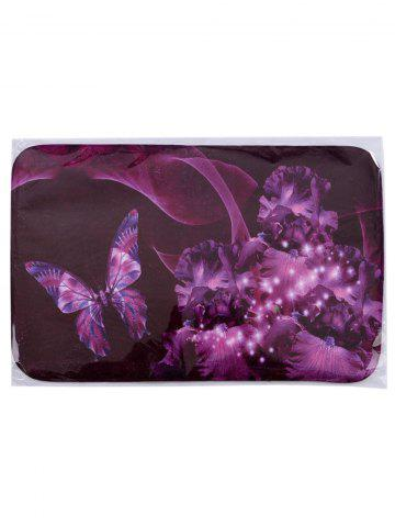 Best Soft Absorbent Mew Butterfly Area Rug - 40*60CM VIOLET Mobile
