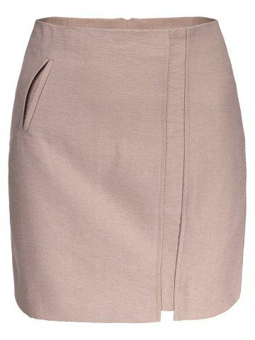 Online A Line Mini Skirt PINK S