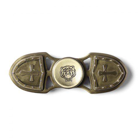 Buy Focus Toy Cross Shield Rotating Finger Gyro - BRONZE-COLORED  Mobile