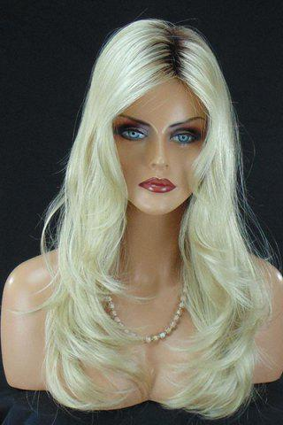 Chic Charming Synthetic Long Curly Wig For Women COLORMIX