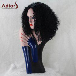 Adiors Medium Synthetic Middle Part Afro Curly Wig