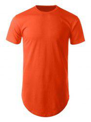 Side Zip Short Sleeve T-Shirt