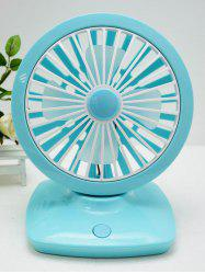 USB Recharge Adjustable Wind Speed Suspensible Mini Desk Fan