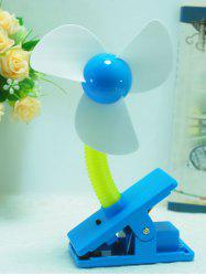 Big Wind Portable USB Rechargeable Mini Clip Fan -