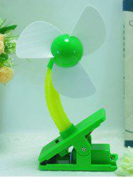 Big Wind USB portable rechargeable Clip Mini ventilateur - Vert
