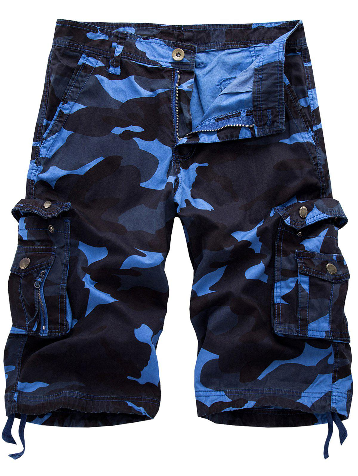 Mens Camo Shorts Add instant cool to any casual outfit with a pair of men's camo shorts. This laid-back print offers the perfect balance between rough and relaxed.