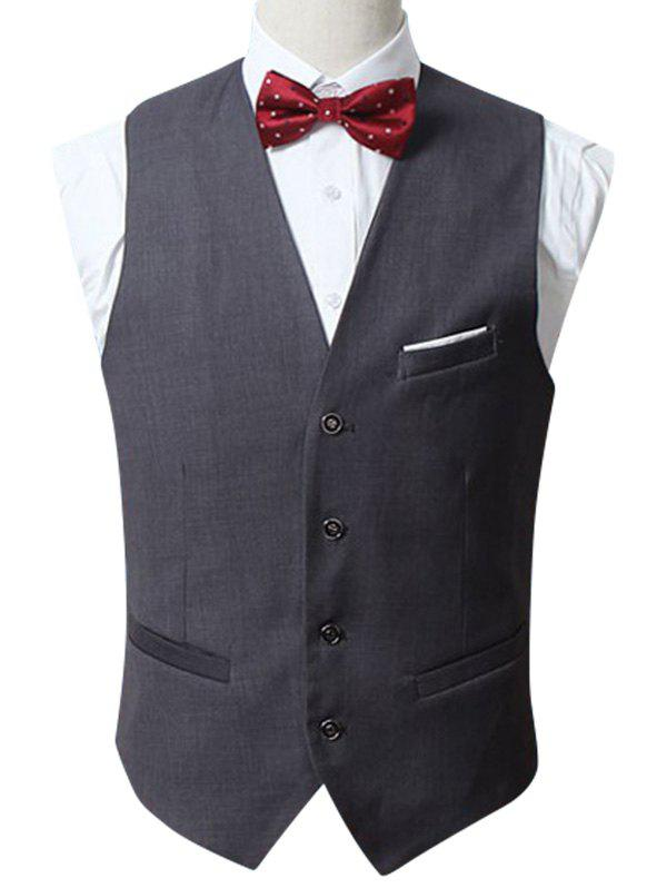 Sale Slim Fit Button Up Formal Waistcoat