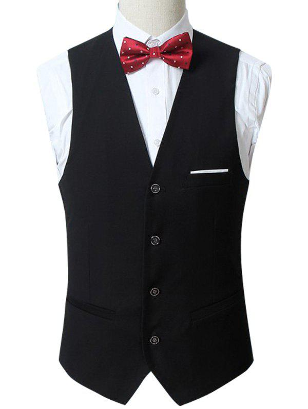 Best Slim Fit Button Up Formal Waistcoat