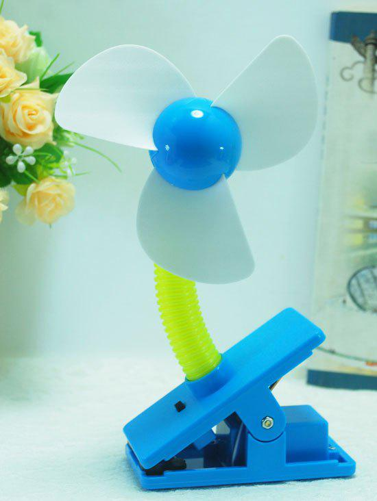 Affordable Big Wind Portable USB Rechargeable Mini Clip Fan