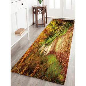 Mountain Path Flannel Antislip Rug