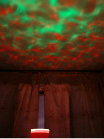 Mini Color Changing LED Room Atmosphere Video Projection Lamp - COLORFUL