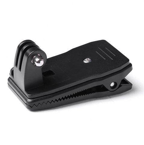 Discount Accessories for Gopro 360 Degrees Rotatable Bag Clip Mount - BLACK  Mobile