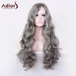 Adiors Long Wavy Side Part Synthetic Harajuku Cosplay Wig