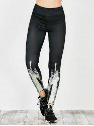 Tie Dye Sports Running Leggings