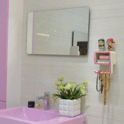 Creative Number Shape Bathroom Wall Shelf