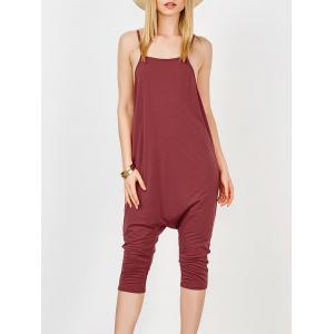 Backless Cami Harem Jumpsuit