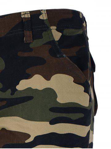 Outfits Zipper Fly Camo Shorts - 36 CAMOUFLAGE Mobile