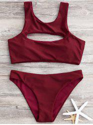 High Cut Cut Out Bikini -