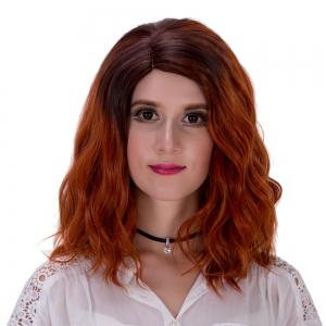 Adiors Side Parting Colormix Fluffy Curly Synthetic Short Wig - COLORMIX