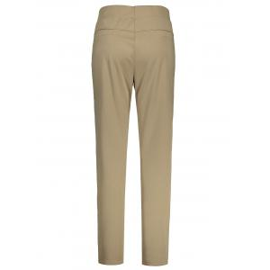 Plus Size High Waisted Ankle Pants - CAMEL 2XL